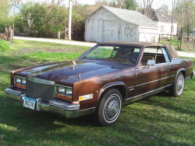 Eldorado With Good Original V Ac And Quality Faux Cabriolet Top on Cadillac Eldorado 1981 368 Engine