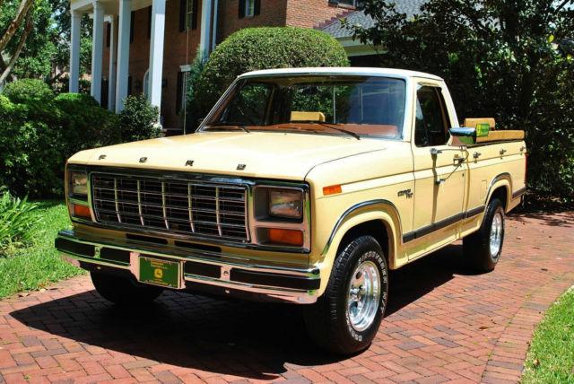 1981 Ford F-100 Custom Beautiful Truck Low Miles Drives ...