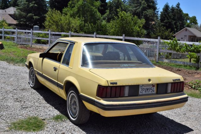 1981 ford mustang foxbody coupe for sale ford mustang. Black Bedroom Furniture Sets. Home Design Ideas