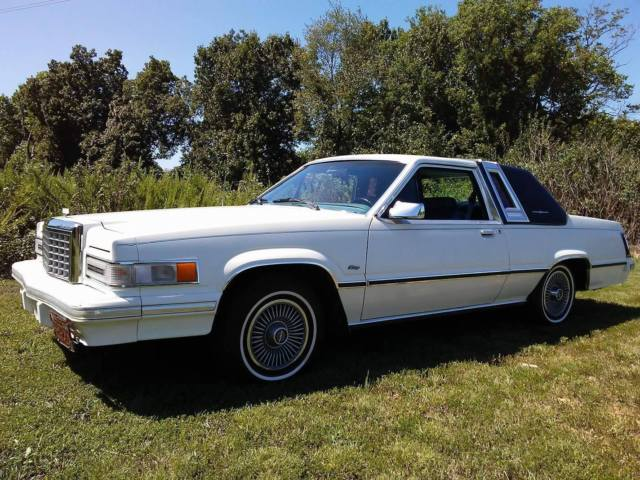 1981 Ford Thunderbird Heritage 83k Rare Top Of The Line