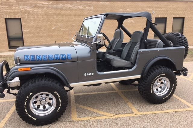 1981 jeep cj7 renegade for sale jeep cj 1981 for sale in killeen texas united states. Black Bedroom Furniture Sets. Home Design Ideas