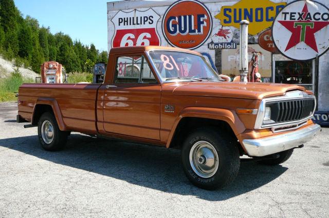 Jeep J Amc High Low Range X Pickup Truck Honcho