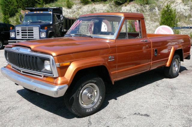 1981 jeep j10 amc high low range 4x4 pickup truck honcho for sale jeep wagoneer 1981 for sale. Black Bedroom Furniture Sets. Home Design Ideas