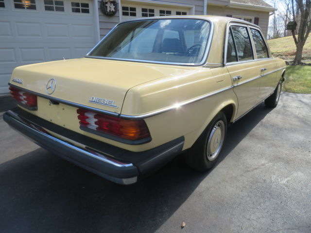 1981 mercedes benz 240d base sedan 4 door 2 4l for sale for Mercedes benz 240d for sale