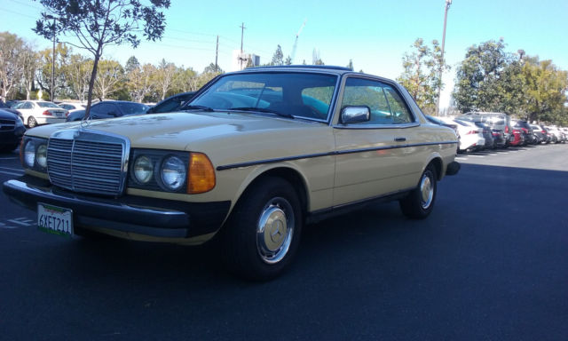 1981 mercedes benz 300cd base coupe 2 door 3 0l last year for Mercedes benz 2 door coupe for sale
