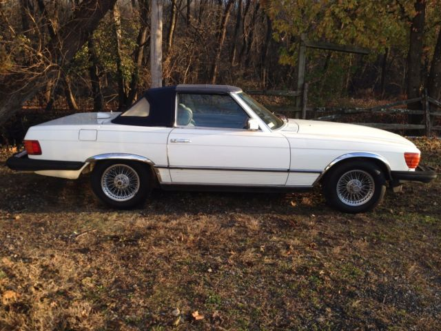 1981 mercedes benz 380 sl roadster low miles never for Mercedes benz ft washington