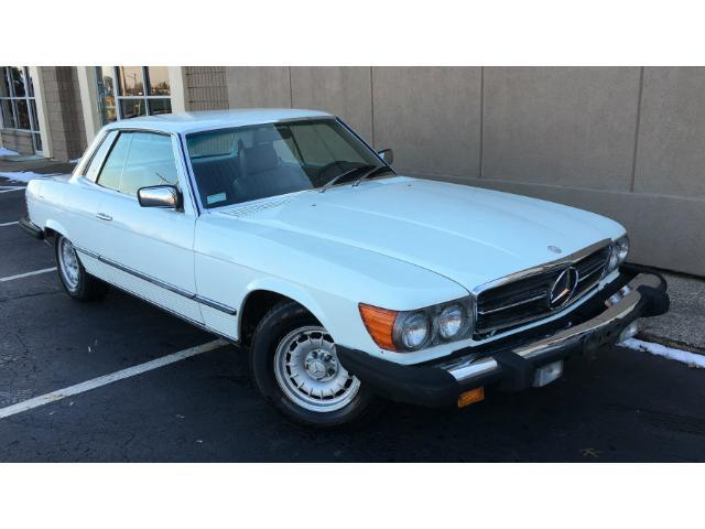 1981 mercedes benz 380slc base coupe 2 door 3 8l for sale for Mercedes benz 2 door coupe for sale