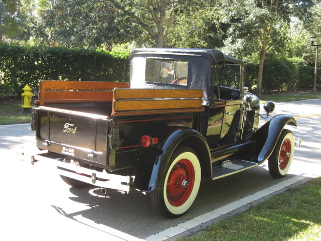 1981 shay roadster pickup 1929 ford model a roadster pick up replica rare for sale ford - Pick up mobel kiel ...