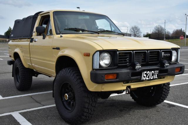 1981 toyota pickup sr5 standard cab pickup 2 door 2 4l for sale toyota hilux sr5 1981 for sale. Black Bedroom Furniture Sets. Home Design Ideas
