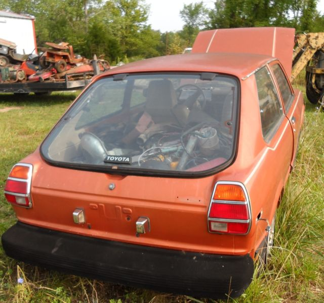 1981 Toyota Tercel Corolla FOR PARTS not running Rare Clear
