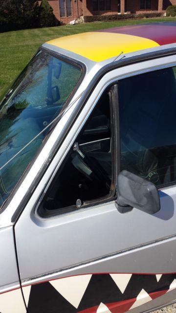 1981 Volkswagen Rabbit Pickup Caddy 1.9aaz turbo diesel ...