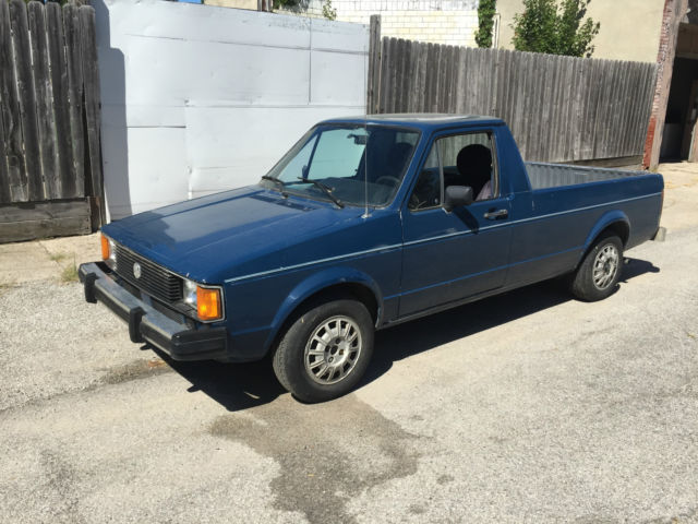 1981 volkswagen rabbit pickup truck 1 5 liter diesel for sale volkswagen rabbit 1981 for sale. Black Bedroom Furniture Sets. Home Design Ideas