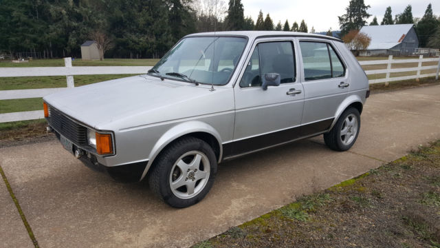 1981 Volkswagen Rabbit Rebuilt Sel Motor 4 Sd 50 Mpg For In Creswell Oregon United States