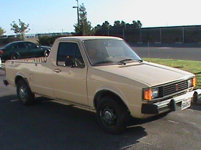1981 Vw Pickup No Reserve Low Mile Engine Diesel Solid