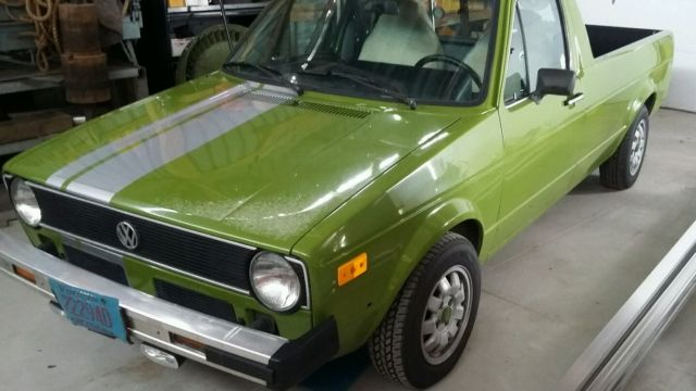 1981 vw rabbit diesel pickup caddy for sale volkswagen rabbit 1981 for sale in plainfield. Black Bedroom Furniture Sets. Home Design Ideas
