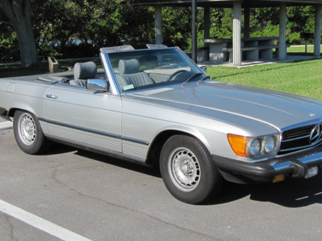 1982 380sl roadster for sale mercedes benz sl class 1982 for Mercedes benz sl convertible for sale