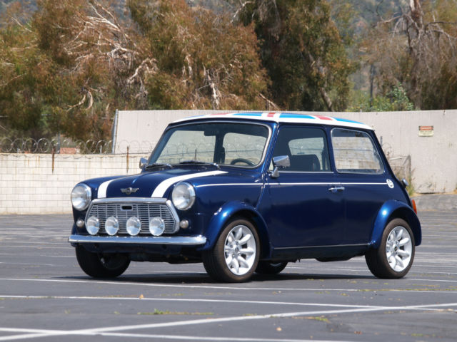 1982 austin mini cooper original classic collectors rare import gray grey market for sale. Black Bedroom Furniture Sets. Home Design Ideas