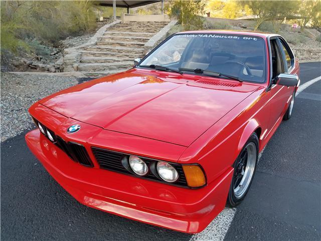 1982 Bmw 635csi 98k Red 3 5l V6 Euro Car Body Kit For Sale Bmw 6