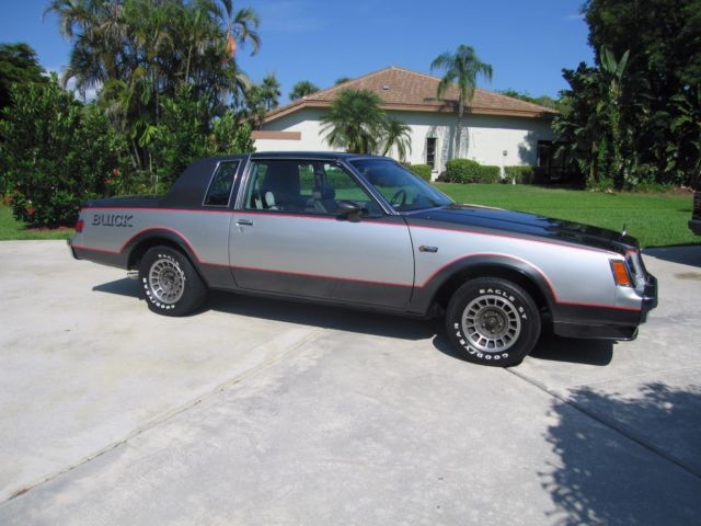 1982 buick grand national extremly rare only 212 made restored historic gnx for sale. Black Bedroom Furniture Sets. Home Design Ideas