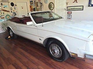 1982 Buick Riviera Convertible for sale - Buick Riviera 1982 for sale in Longmont, Colorado ...