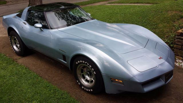 1982 chevrolet corvette for sale in cincinnati ohio old html autos post. Black Bedroom Furniture Sets. Home Design Ideas