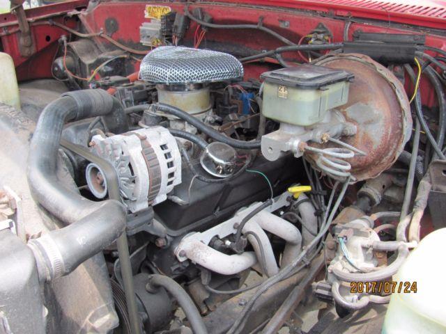 1982 Chevrolet K-10 Pickup 4wd 4 Speed Manual Transmission