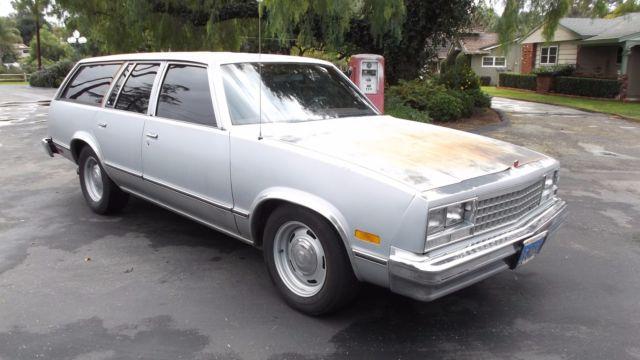 1982 Chevrolet Malibu Classic Station Wagon for sale - Chevrolet