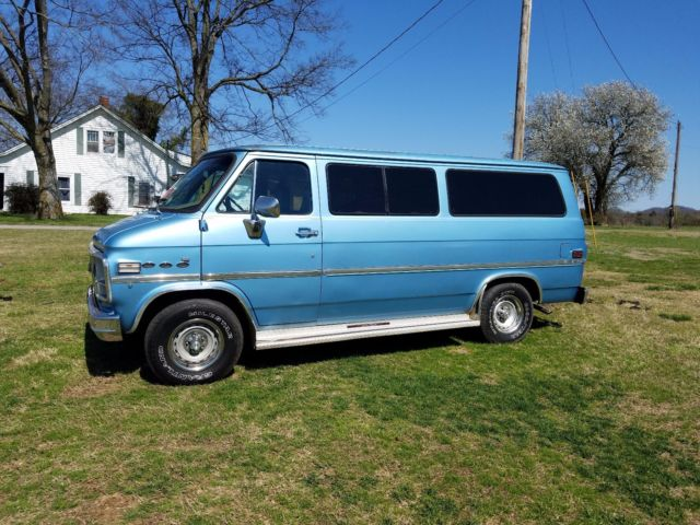 1982 chevy g20 sportvan van chevrolet for sale chevrolet. Black Bedroom Furniture Sets. Home Design Ideas