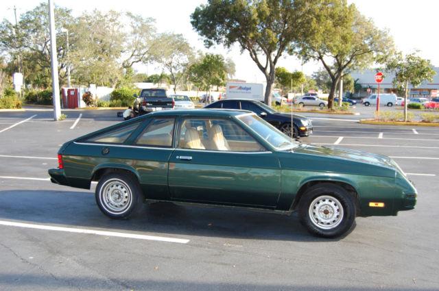Cold Lake Dodge >> 1982 DODGE OMNI 024 for sale - Dodge Omni 1982 for sale in Pompano Beach, Florida, United States