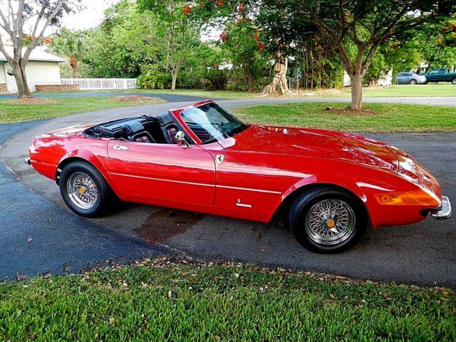 1982 Ferrari Daytona Spyder Kit Replica For Sale Ferrari