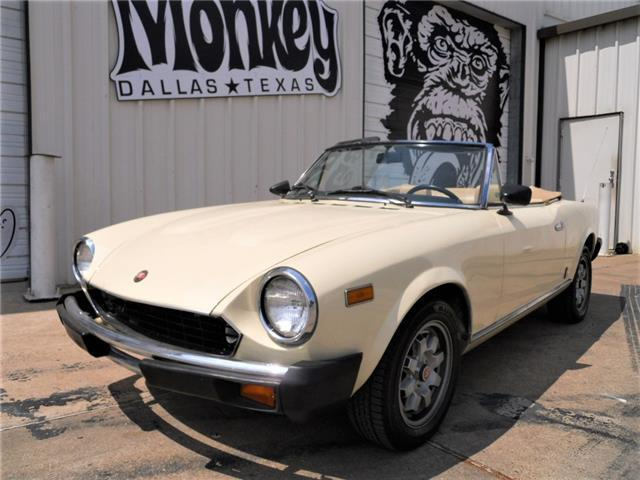 1982 fiat 2000 spider pininfarina 124 convertible gas monkey garage no reserve for sale fiat. Black Bedroom Furniture Sets. Home Design Ideas