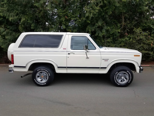 Classic Ford Bronco For Sale >> 1982 FORD BRONCO XLT LARIAT 4x4 VERY ORIGINAL 90K MILES for sale - Ford Bronco xlt lariat 1982 ...