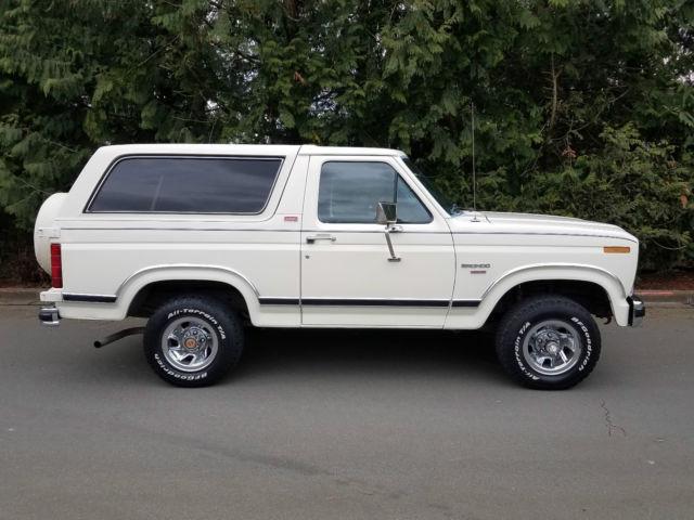 1982 ford bronco xlt lariat 4x4 very original 90k miles. Black Bedroom Furniture Sets. Home Design Ideas