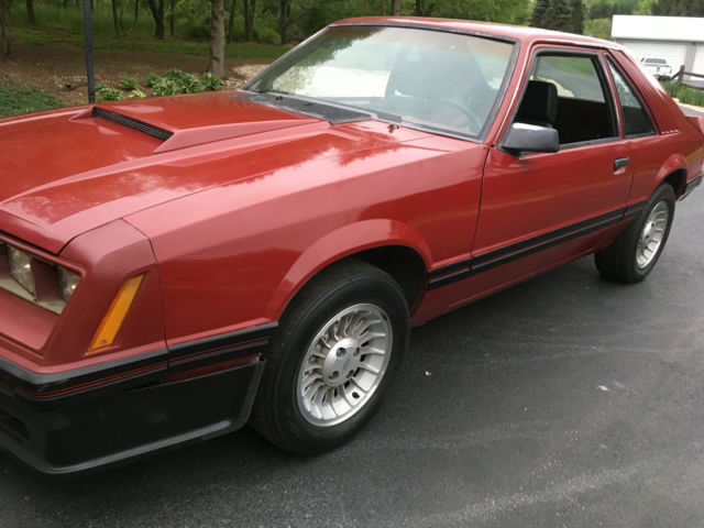 1982 ford mustang gt 5 0 ho manual no rust low mileage california car for sale ford mustang. Black Bedroom Furniture Sets. Home Design Ideas