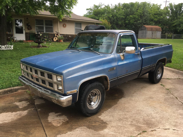 1982 gmc sierra 2500 truck for sale gmc sierra 2500 1982 for sale in shawnee oklahoma united. Black Bedroom Furniture Sets. Home Design Ideas