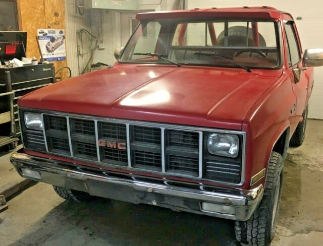 1982 GMC Sierra step side pickup k10 K15 4x4 classic four