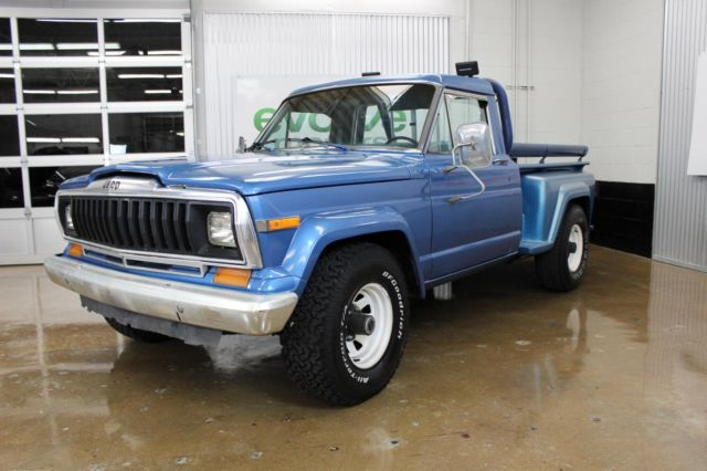 1982 jeep j10 pickup truck 4wd for sale jeep j10 pickup 1982 for sale in local pick up only. Black Bedroom Furniture Sets. Home Design Ideas
