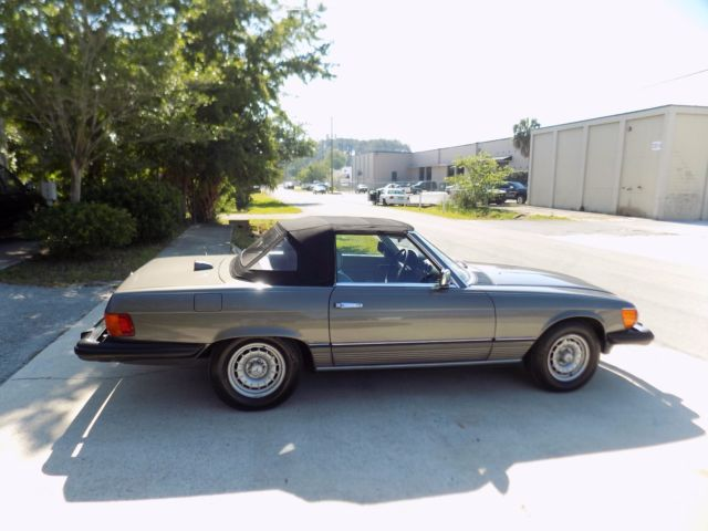 1982 mercedes 380 sl only 67 k miles 1 owner car from new for Mercedes benz for sale by owner in florida