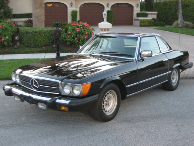 1982 mercedes 380sl hardtop convertible the finest on the for Mercedes benz hardtop convertible for sale