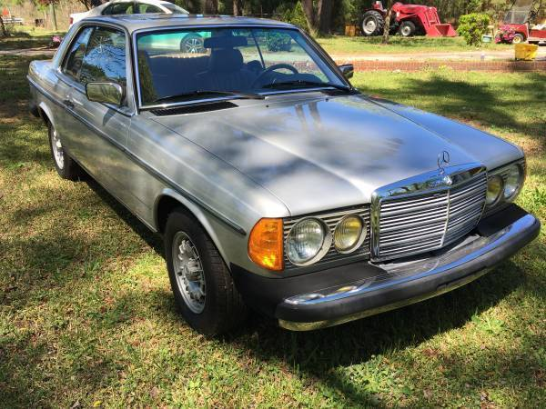 1982 mercedes benz 300cd turbo diesel coupe rare for sale for Mercedes benz 300cd for sale