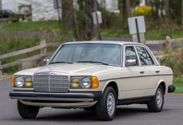 1982 mercedes benz 300d td turbo diesel california car no for Mercedes benz diesel cars for sale