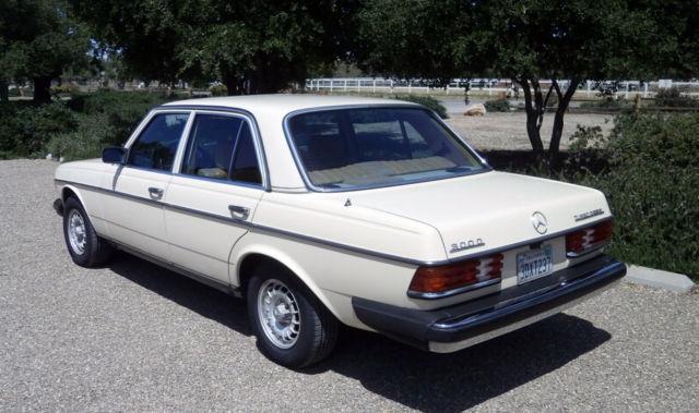 1982 mercedes benz 300d turbo diesel california car for Mercedes benz diesel cars for sale