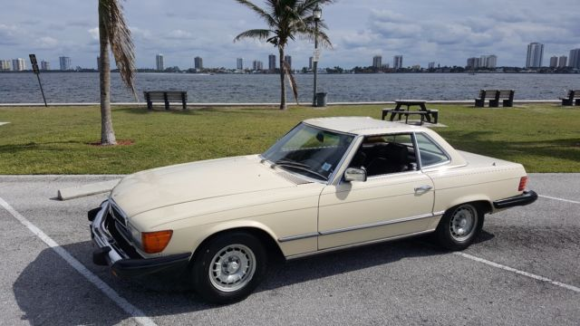 1982 mercedes benz 380 sl 1 owner 39000 original miles for Mercedes benz for sale by owner in florida