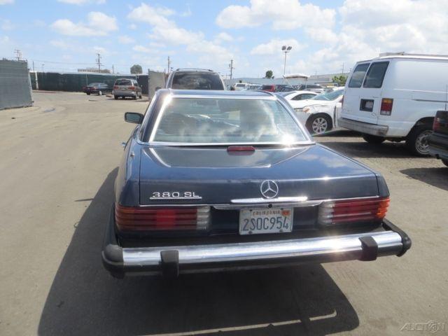 1982 mercedes benz 380sl 2 dr convertible used 3 8l v8 16v for Used mercedes benz convertible cars for sale