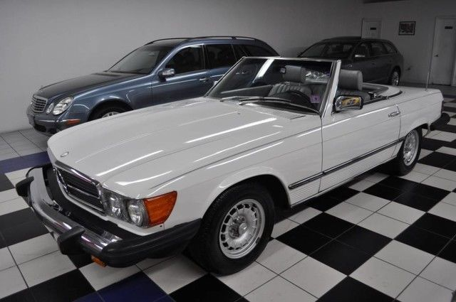 1982 mercedes benz 380sl 380 sl convertible like 560sl for Pompano mercedes benz dealership
