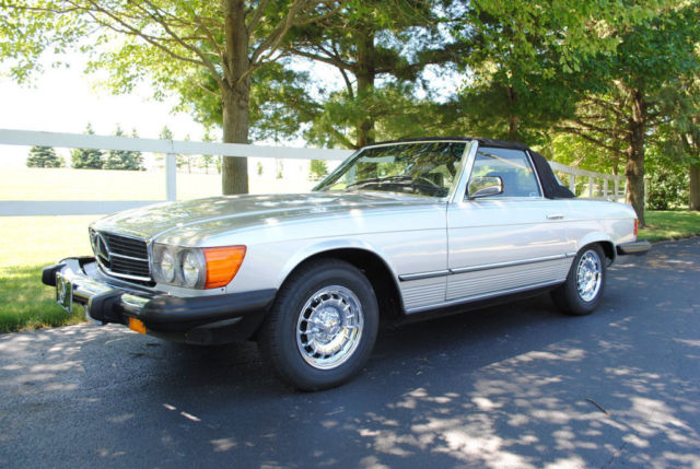 1982 mercedes benz 380sl roadster nice look wow sharp for 380sl mercedes benz for sale