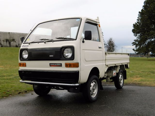 1982 mitsubishi minicab kei truck for sale mitsubishi minicab 1980 for sale in seattle. Black Bedroom Furniture Sets. Home Design Ideas