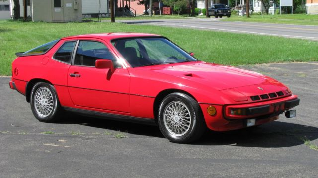 1982 porsche 924 turbo 77 900 miles red 2 door 4 cylinder engine 2 0l 121 manual for sale. Black Bedroom Furniture Sets. Home Design Ideas