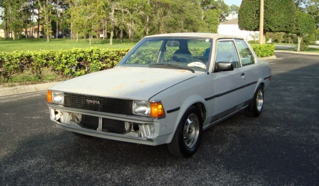 1982 toyota corolla 1 8 3t c 5 speed 2 door japanese antique collector car for sale toyota. Black Bedroom Furniture Sets. Home Design Ideas