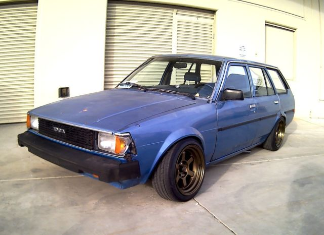 1982 toyota corolla te72 wagon modified for drifting and track use a c works for sale toyota. Black Bedroom Furniture Sets. Home Design Ideas